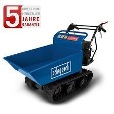 scheppach Profi Dumper Kettendumper Raupendumper Motorschubkarre 300kg kippbar