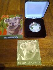 """2011 Koala & Eucalyptus Silver Coin - the """"smelly one!!!!!."""