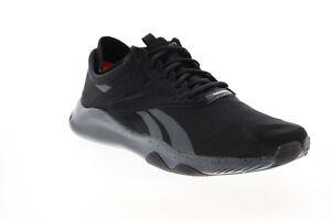 Reebok Hiit TR FV6638 Mens Black Canvas Athletic Running Shoes