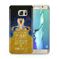 Rafiki il Re Leone Disney Custodia Cover per Samsung Galaxy S5 S6 S7 S8 S9 +