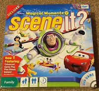 Disney Scene It Magical Moments Deluxe Family DVD Board Game Trivia Knowledge