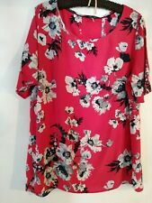 Joules Red Floral Top 18