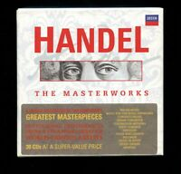 Handel The Masterworks 28 CD box (2 discs missing) booklet Decca 478 1190 UK EX