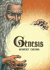 R. CRUMB - BOOK OF GENESIS ILLUSTRATED BY R. CRUMB - SPANISH EDITION SIGNED 2013