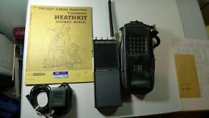 Heathkit 2-Meter VHF Handheld Radio Model HW-2021: Amateur Radio. Parts/Repair