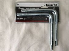 Stepped & Tapered Faucet Seat Wrench Set Superior Tool #03765 Brand New