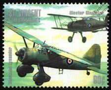 WWII RAF Westland LYSANDER Gloster GLADIATOR Aircraft Stamp (Battle of Britain)