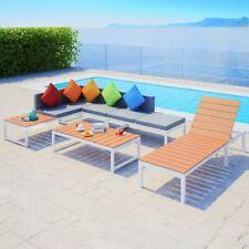 vidaXL Loungeset Aluminium HKC 20-delig Hoekbank Tuinset Lounge Set Loungebank