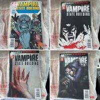 (Lot Of 4) Vampire State Building 1 (Four Collectible Covers) Ablaze Adlard