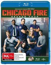 Chicago Fire : Season 4 (Blu-ray, 2017, 6-Disc Set)