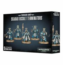 Warhamer 40k Thousand Sons Scarab Occult Terminators NIB