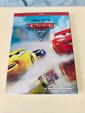 Cars 3 DVD Disney Pixar Movie Brand New 100% Satisfaction Guaranteed