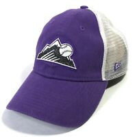 NEW ERA 9TWENTY WOMENS COLORADO ROCKIES VENTED SNAPBACK BASEBALL HAT CAP