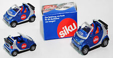 Siku Super 1042 smart fortwo cabrio passion (Typ A 450), ca. 1:50, Werbesbox