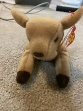 WHISPER THE FAWN DEER 1998 TY BEANIE BABY WITH TAGS