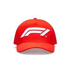 Formula 1 Large Logo Cap hat red F1