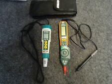 Lot of 2 Extech ExStik EC/TDS Module and Pen MutiMeter 381676A