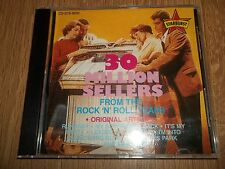 VARIOUS - 30 MILLION SELLERS FROM THE ROCK 'N' ROLL YEARS - CD ALBUM EXCELLENT