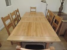 Vancouver Oak Premium Oval Extending Dining Table 160cm to 200cm