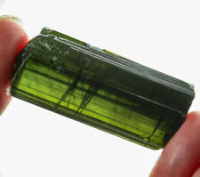 71.1Ct Natural Green Tourmaline Crystal Facet Rough Specimen YBGT1238