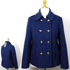 Wool Blend Peacoat Double Breasted Coats & Jackets for Women