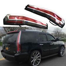 LED Tail Lights Rear For GMC Yukon Chevy Chevrolet Suburban Tahoe 2007-2014