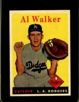 1958 TOPPS #203 RUBE WALKER EXMT DODGERS  *XR20069