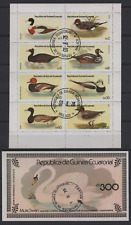 1020 Republic of Equatorial Guinea 1978 Ducks Sheet and S/S used