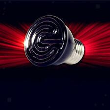 E27 ceramica pet rettile calore lampada a raggi infrarossi lampadina 60W