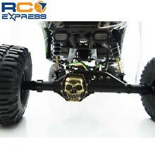 Hot Racing Axial 1/10 Yeti Metal AR60 Skull Diff Cover (Antique Gold) WRA12CT14