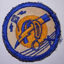 WW2 AAF Rare Radio Signals School Shoulder Patch