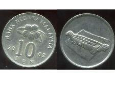 MALAISIE 10 sen 2002