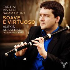 Giuseppe Tartini : Alexis Kossenko: Soave E Virtuoso CD (2017) ***NEW***