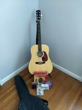 Fender Starcaster Acoustic Guitar and Accessories - Beginner bundle! #0910106121