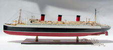 "SS Ile De France 1926 French Ocean Liner Model 38"" Museum Quality Scale 1:250"