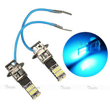 2x26 LED H3 Ice Blue Car Fog Driving Light DRL DayTime Running Headlight Lamp #A