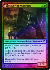 Mayor of Avabruck / Howlpack Alpha FOIL Innistrad NM-M Green Rare CARD ABUGames