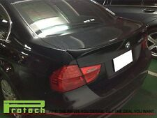 Paint 668 Black OE Style Trunk Lip Spoiler Fit BMW E90 323i 325i 330i 335i Sedan