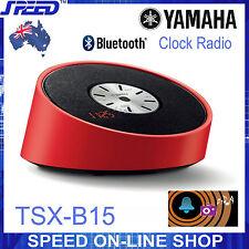 Yamaha TSX-B15 Bluetooth & Clock Radio Speaker – RED