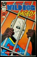 The Return of... WILDDOG #1 CAGED! (1989 DC Comics) - FN/VF Comic Book Wild Dog