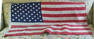 "VINTAGE TOMMY HILFIGER BULLDOG 100% COTTON AMERICAN FLAG 32"" X 58"" USA ANNIN"