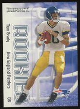 2000 Skybox Impact #27 Tom Brady New England Patriots RC Rookie