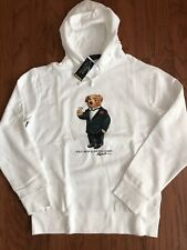 "NWT-POLO RALPH LAUREN Men's ""Martini Bear"" SPECIAL EDITION Pullover Hoodie- XL"