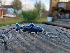 Patagonia Fish Bear Fitzroy Mammut Arcteryx Stickers Decals Trinket Key Keychain