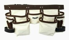 AWP Lightweight General Construction Canvas Tool Belt Apron up to 50
