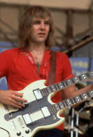 Alex Lifeson Of The Band Rush Performs At Comiskey Park 1979 OLD MUSIC PHOTO 1