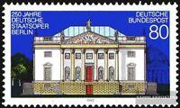 BRD (BR.Deutschland) 1625 (kompl.Ausgabe) postfrisch 1992 Staatsoper Berlin