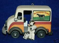 Milk, Dairy, Milkman, Truck Christmas Ornament