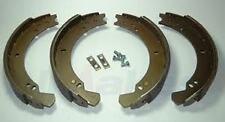 LAND ROVER DEFENDER 110 / 130 REAR BRAKE SHOE SET UPTO 95 - NEW SHOES - STC2797