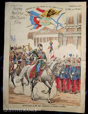 IMAGE D'EPINAL - TSAR NICOLAS II Empereur de Russie à Paris 1896